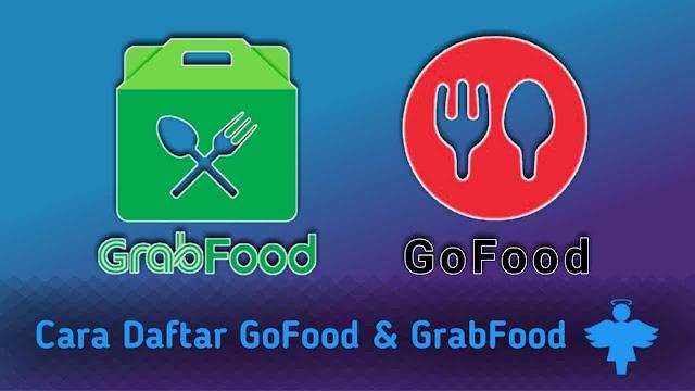 Cara daftar gofood dan grabfood