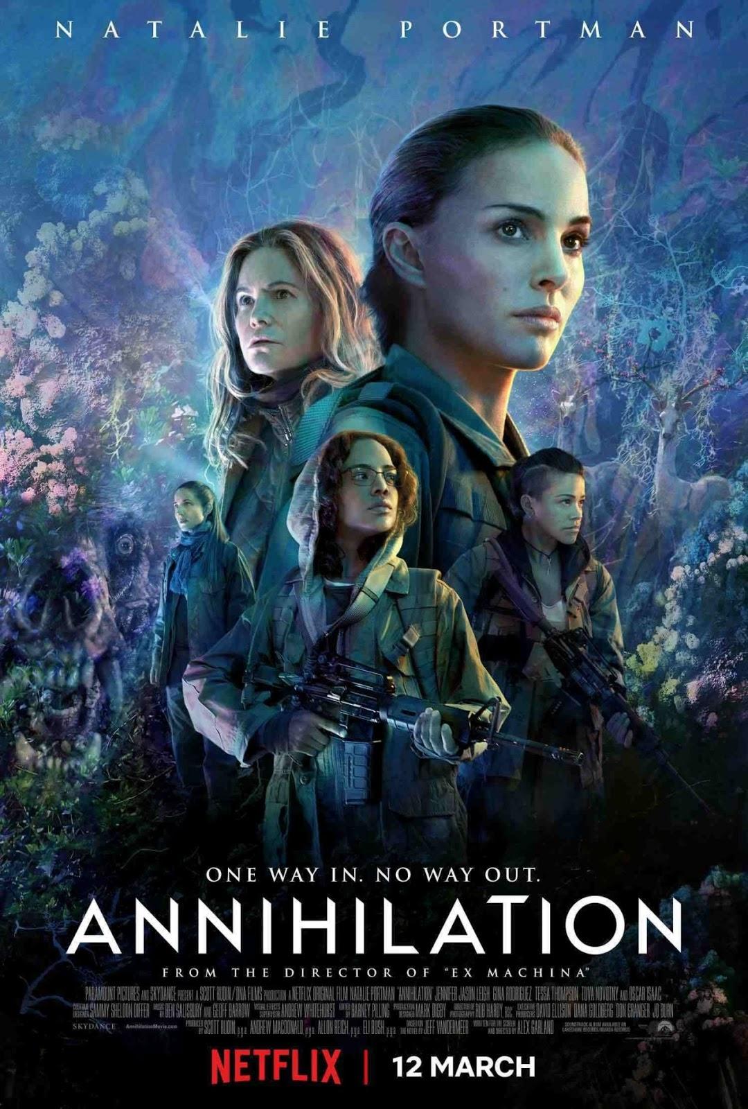 Annihilation (2018) แดนทำลายล้าง (ซับไทย Netflix)