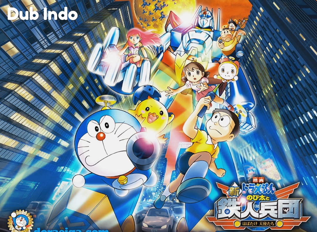 Doraemon The Movie 2011 - Nobita and the new Stell Troops : Angel Wings Dubbing Indonesia