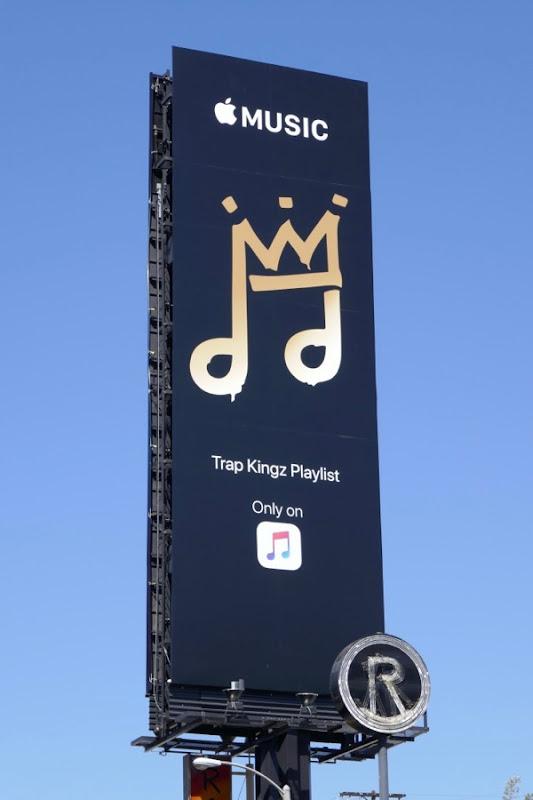 Trap Kingz Playlist Apple Music billboard