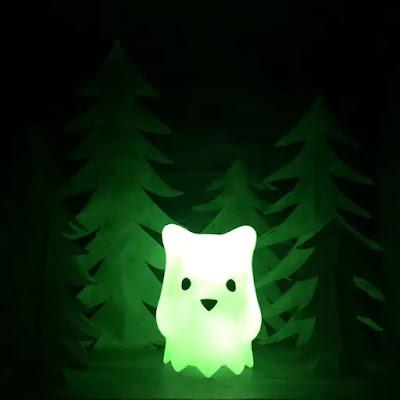 Ghostbear Green Swirl Glow in the Dark Edition Vinyl Figure by Luke Chueh x Munky King