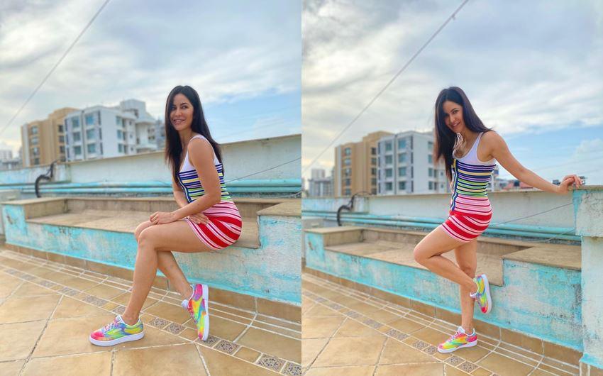 katrina-kaif-gets-hot-photoshoot-done-in-colorful-short-dress