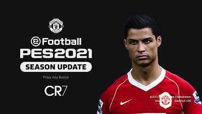 PES 2021 Menu Mod CR7 Dark Edition