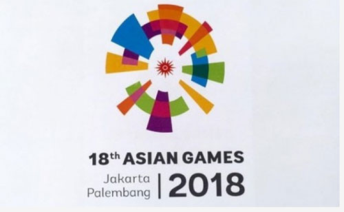 Energy Of Asia . official logo of the Asian Games 2018