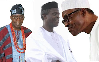 Between TINUBU And BUHARI; Osinbajo Clarifies Who Actually Nominated Him Vice President