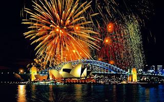Muslim Rayakan Malam Tahun Baru