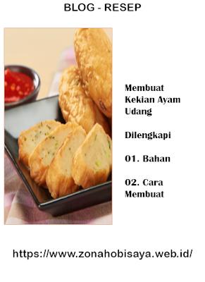 Resep Membuat Kekian Ayam Udang