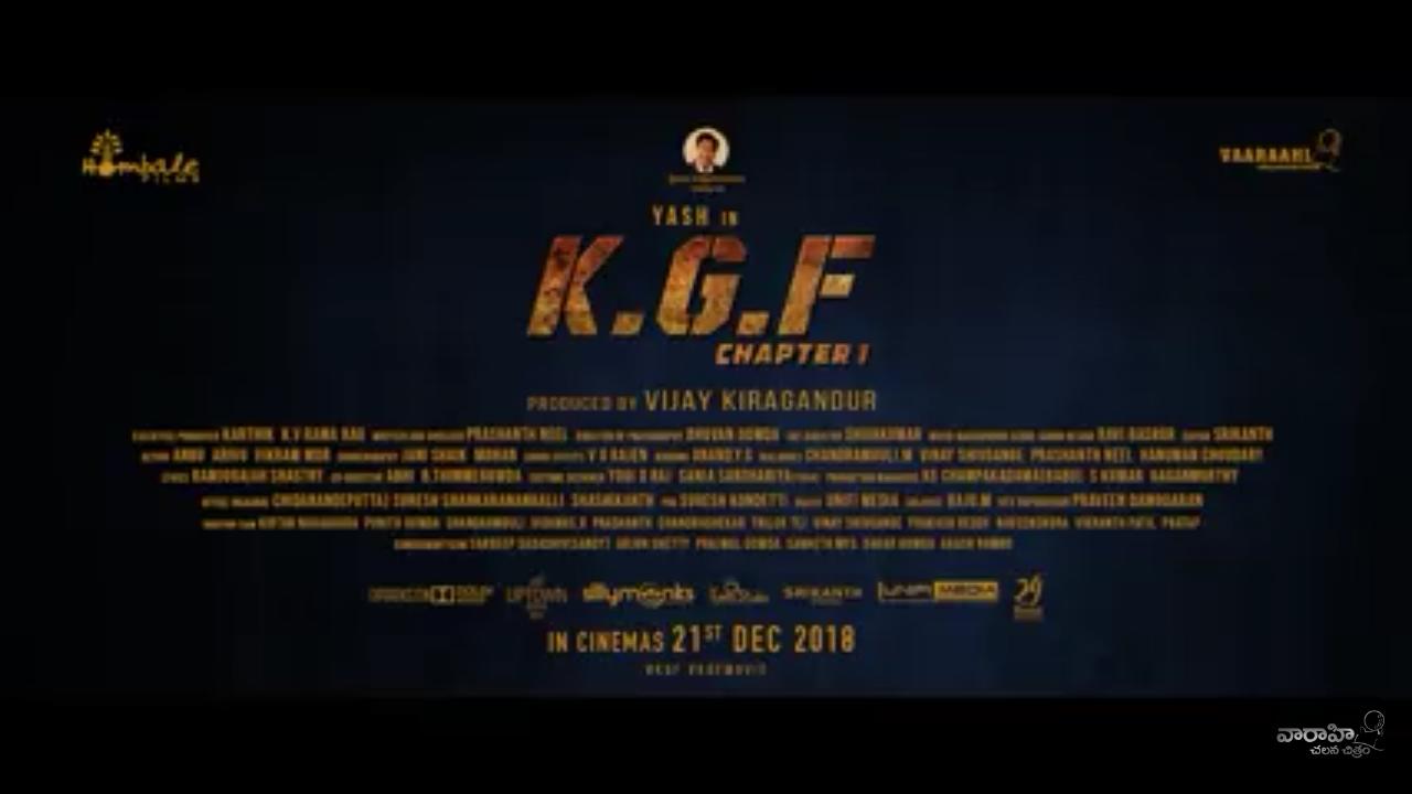 K G F Trailer In 5 Languages