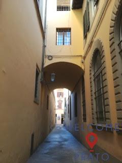 Foto del Vicolo Novellucci a Prato