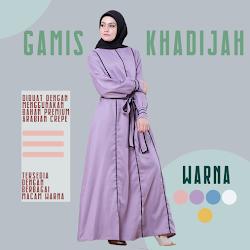 Gamis Khadijah DG-02  Lady Muslimah <p>USD 25</p> <code> DG-02</code>