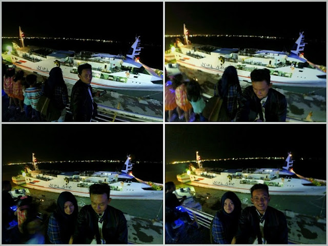 Kapal pesiar bersandar di SNQ