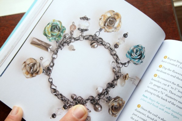 Lovely rosette bracelet  via Washi Tape Crafts by Amy Anderson
