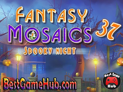 Fantasy Mosaics 37 Spooky Night PC Game Download