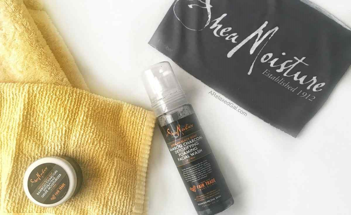 SheaMoisture Bamboo Charcoal skincare product review   A Relaxed Gal