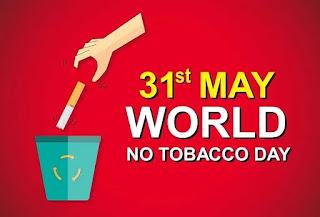 विश्व तम्बाकू निषेध दिवस (31 मई) पर विशेष   विश्व में तम्बाकू सेवन से हर साल 80 लाख लोग तोड़ देते हैं दम   इस बार 'विजेता बनने के लिए तम्बाकू छोड़े ' थीम के साथ मनेगा दिवस    जनपद जालौन में 63 ने पाई तम्बाकू से मुक्ति, तम्बाकू छोड़ने के लिए 1149 लोगों की गई काउंसलिंग