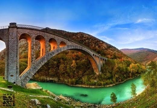 jembatan,wisata,indah,alam