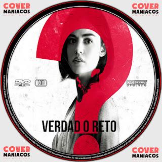 GALLETA LABEL VERDAD O RETO 2018 [COVER DVD]