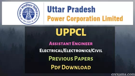 UPPCL AE Previous Year Electrical, Civil, Electronics Question Papers Pdf Download