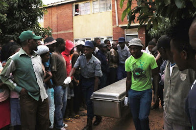 Photos: Man stabs his wife to death at her employer?s house in Zimbabwe before hanging himself in the presence of two children