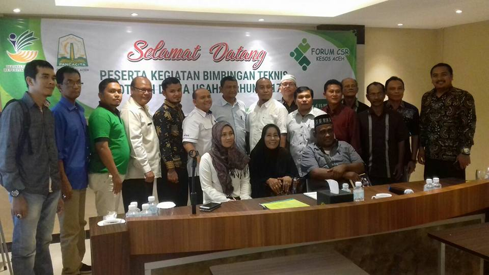 Lembaga Peduli Dhuafa Ikut Membahas Masalah Dana CSR bersama Forum CSR Se-Aceh