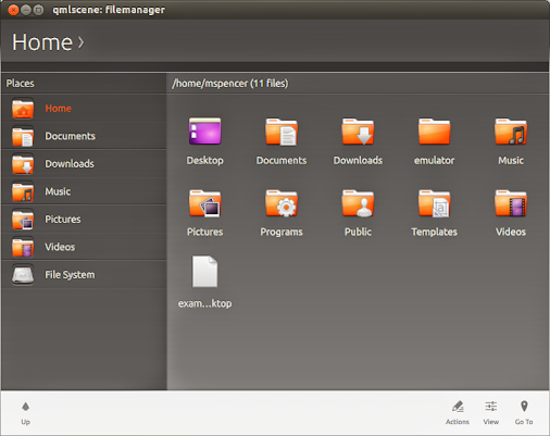 File Manager Ubuntu