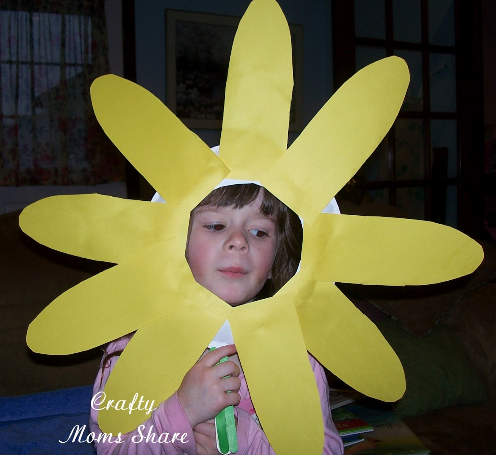 Sunflower Preschool Flower Craft Mother Day Craft Dltk