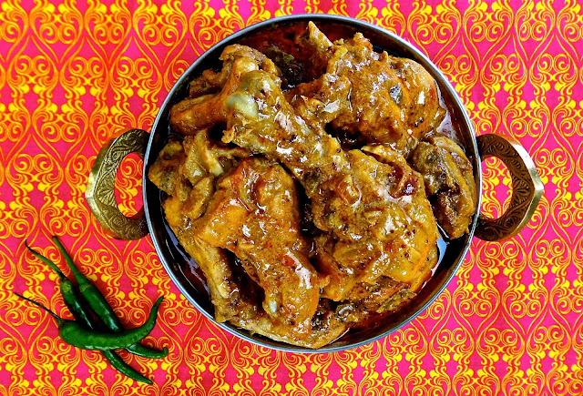 goan style chicken curry easy recipe with coconut milk