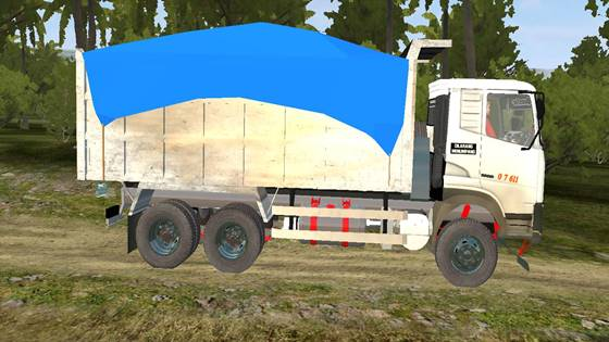 mod ud quester dump truck bussid