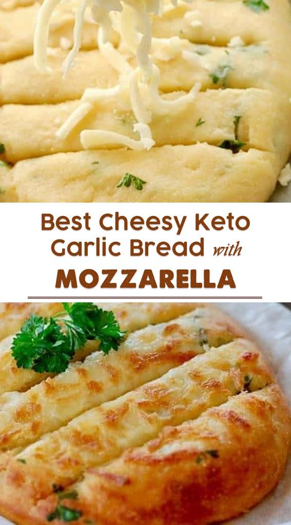 Chееѕу Kеtо Gаrlіс Bread With Mozzarella