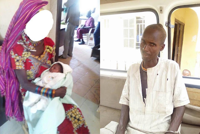 Lady impregnated by her father, throws her baby inside a well