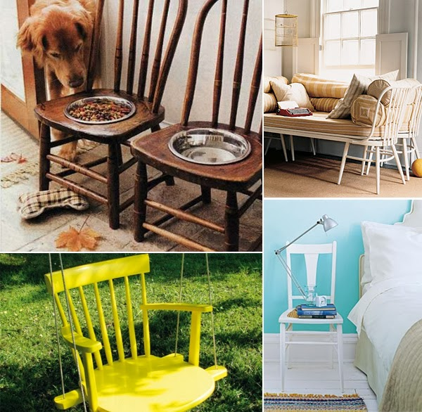 The Most Creative Ideas For Recycling Old Chairs ~ GOODIY