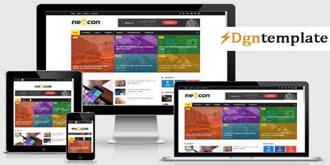 newcon Responsive Blogger Templates