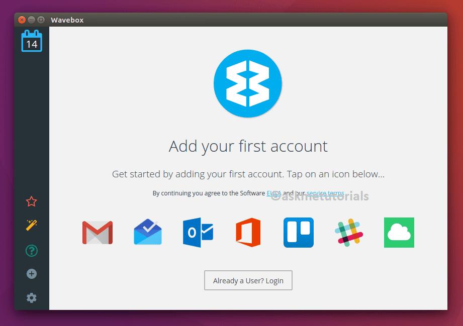 Install Wavebox on Ubuntu 17 04 / 16 04 LTS & LinuxMint Via Snap