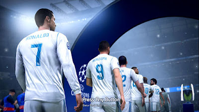 PES 2013 Theme FIFA 19 Style Graphic Menu