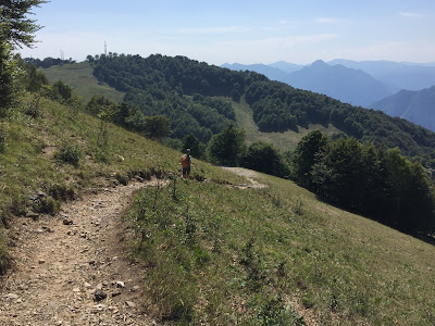 Trail #7 and Piani d'Erna.