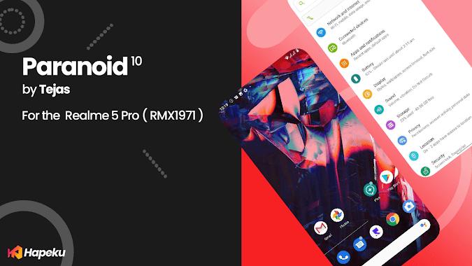 ROM Paranoid Android 10 Q Realme 5 Pro ( RMX1971 )