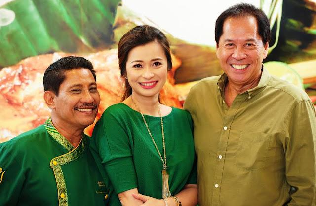 Chefs Sandy Daza, Boy Logro and Rosebud Benitez Love Mang Inasal Halo-Halo