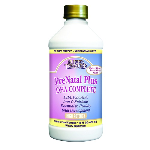 Does prenatal plus have dha