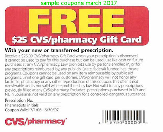 Cvs Pharmacy coupons march 2017