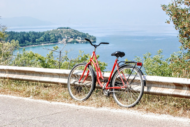 Around ohrid lake by bike / Macedonia (Македонија)