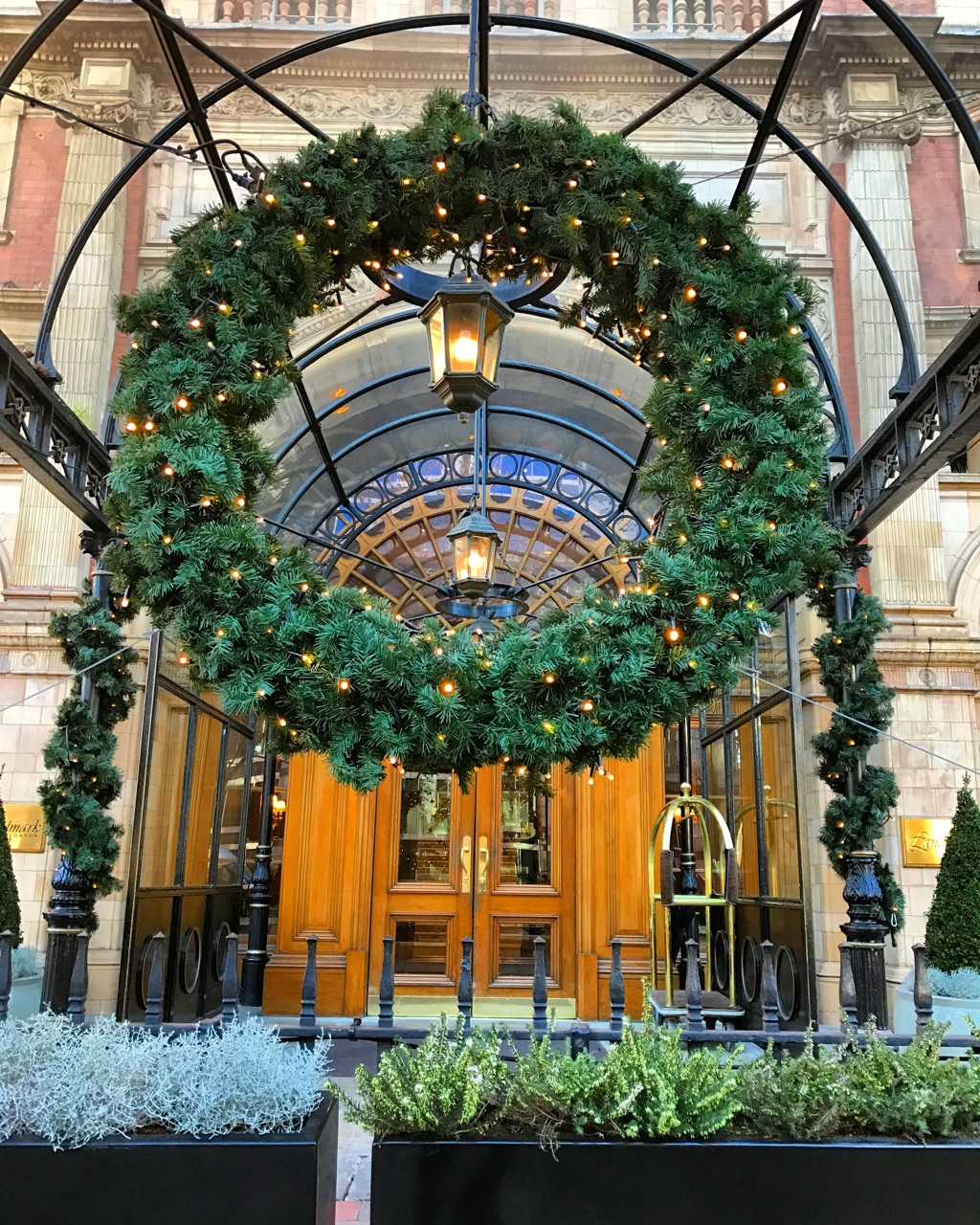 sweetezcapes winter garden at landmark london