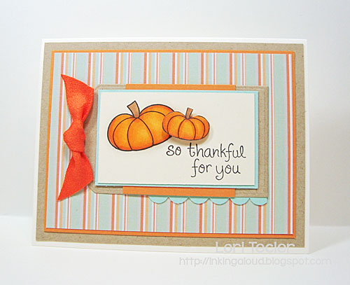 So Thankful for You card-designed by Lori Tecler/Inking Aloud-stamps from Lawn Fawn