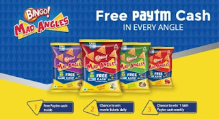 Paytm Bingo Cashback Offer