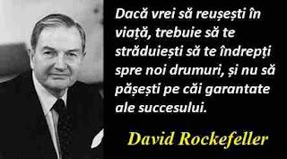 Maxima zilei: 12 iunie - David Rockefeller