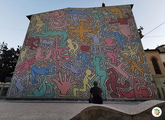 Murale Tuttomondo Keith Haring