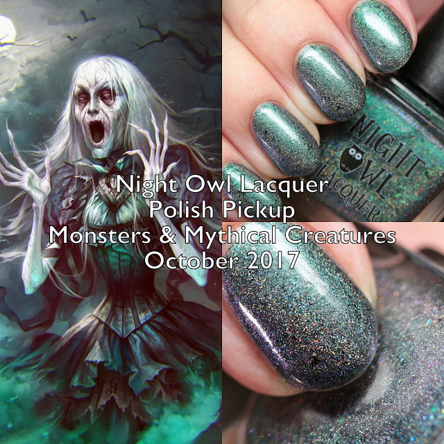 Night Owl Lacquer Monsters & Mythical Creatures Polish Pickup October 2017