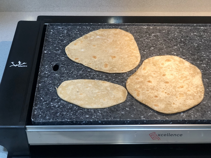 Chapati - Pan Indio