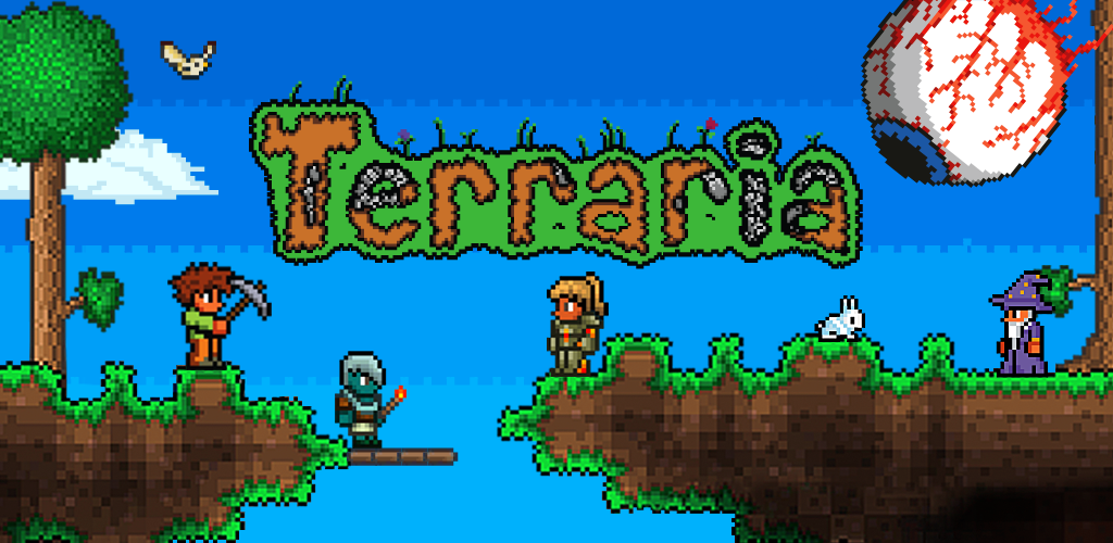 Terraria : Games like minecraft