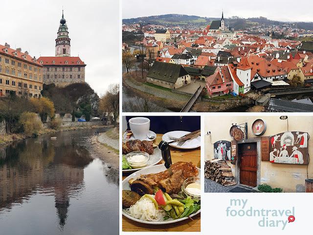 库伦洛夫小镇、彩绘塔和著名的洞穴餐厅
