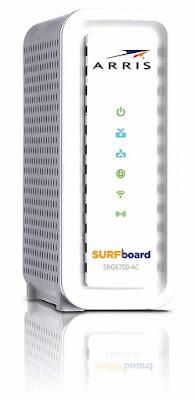 ARRIS Surfboard SBG6700AC Plus AC1600 Cable Modem